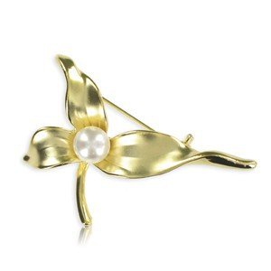 BROOCHES - PLATED: GOLD
