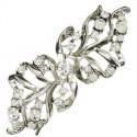 Broche Plata Cristales Circonita