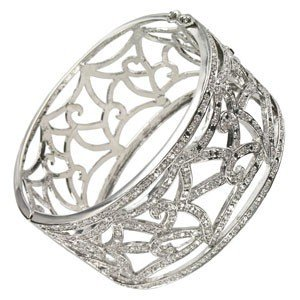 BRACELETS - PLATED: RHODIUM