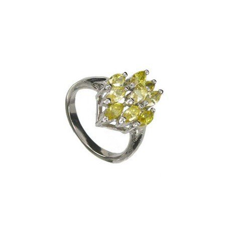 RINGS - PLATED: RHODIUM - IN COLOURS: YELLOW