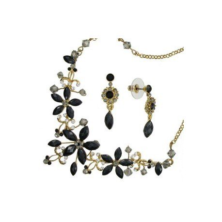 SETS - PLATED: GOLD - IN COLOURS: BLACK, GRAY