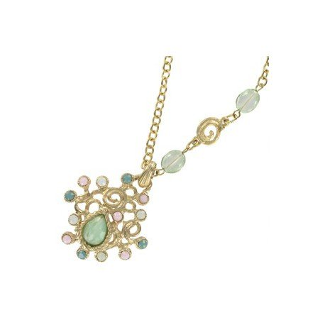 NECKLACES - IN COLOURS: GREEN, MULTICOLOR