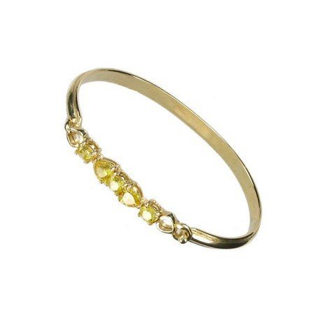 BRACELETS - PLATED: GOLD - IN COLOURS: YELLOW