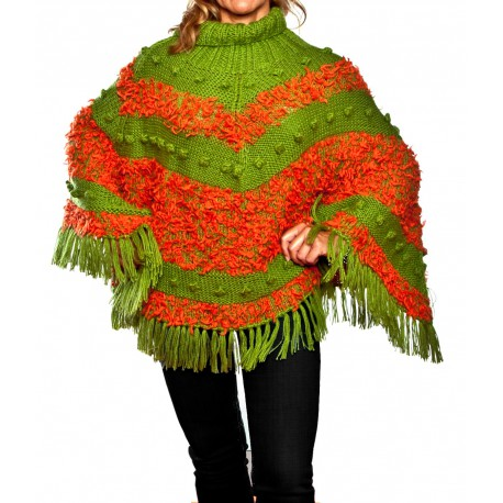Poncho Explosion de Color