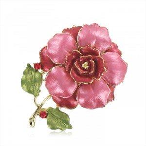Broche Flor de Rosa