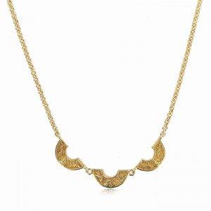 Gargantilla egipcia en Oro