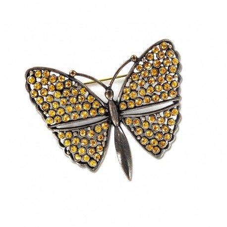 Mariposa color topacio