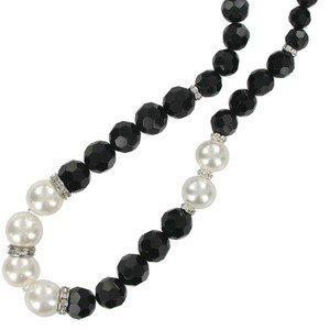 NECKLACES - IN COLOURS: WHITED, BLACK