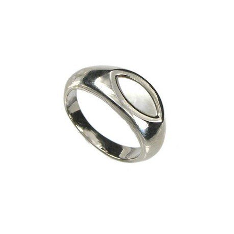 RINGS - PLATED: RHODIUM - IN COLOURS: WHITED