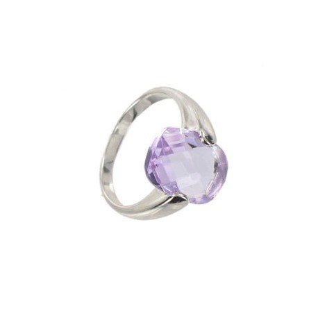 RINGS - PLATED: RHODIUM - IN COLOURS: PURPLE, PINK
