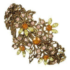 PINS - PLATED: GOLD - IN COLOURS: YELLOW, TOPAZ, BROWN