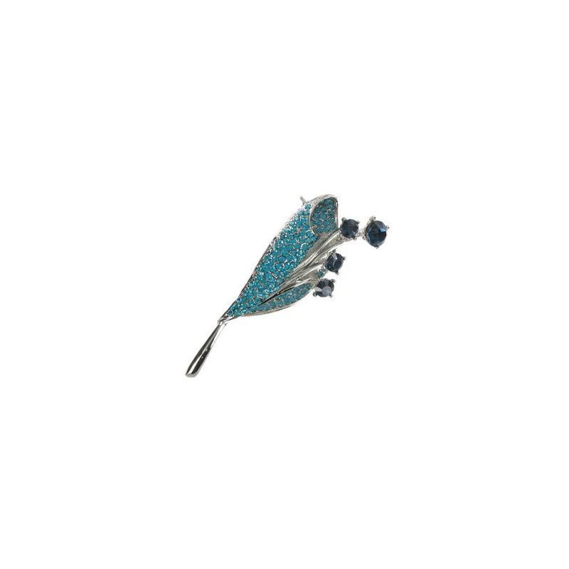 Baños Color Azul Turquesa: de plata antigua en colores turquesa, azul Mediano Con cristales