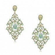 0baf9d50e624 Pendientes Plata Oro Oro Blanco Alta Bisutería - Jewels by Olga